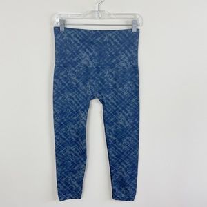 SPANX Seamless Look At Me Now Leggings Blue